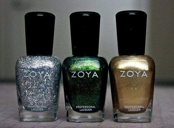 ZOYA Ornate Collection Electra, Logan, Ziv