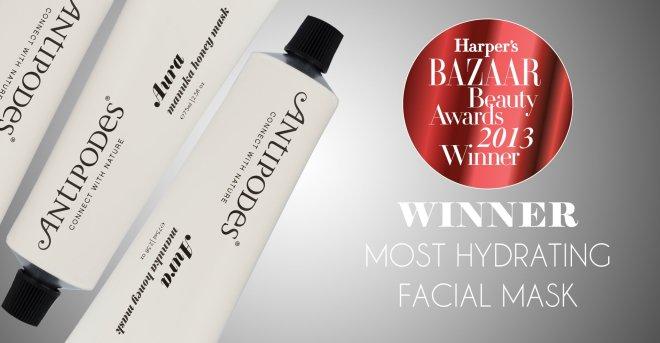 Aura Mask Harperz Award 2013
